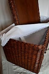 Košíky - Box kakaový ELIZABETH - 10149065_