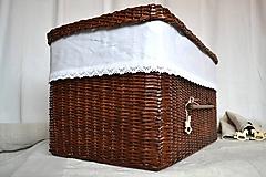 Košíky - Box kakaový ELIZABETH - 10149066_