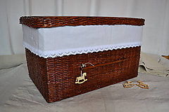 Košíky - Box kakaový ELIZABETH - 10149158_