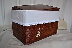 Košíky - Box kakaový ELIZABETH - 10149160_