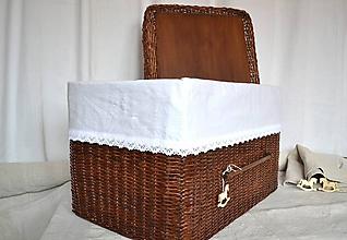 Košíky - Box kakaový ELIZABETH - 10149062_