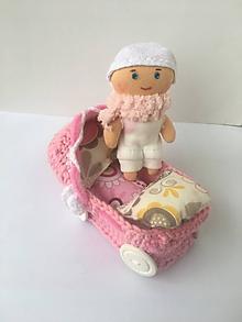 Hračky - Kočík s bábikou pre bábiku.zlava - 10152241_