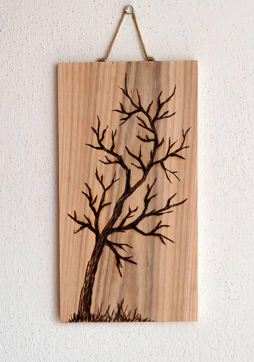 Drevený obrázok-Strom