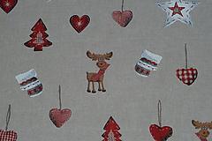 Textil - Látka Sobíci a rukavičky - 10152900_