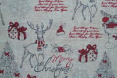 Textil - Látka Vianočný vinš - 10152921_