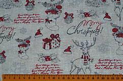 Textil - Látka Vianočný vinš - 10152923_