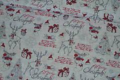 Textil - Látka Vianočný vinš - 10152924_