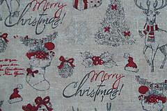 Textil - Látka Vianočný vinš - 10152925_