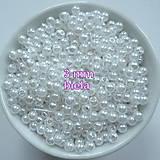 Korálky - GLANCE plast 3mm-10g - 10156578_