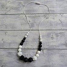 """Náhrdelníky - Silikónový kojaci náhrdelník """"Linda"""" - 10154470_"""