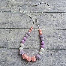 """Iné šperky - Silikónový kojaci náhrdelník """"Angelika"""" - 10154518_"""