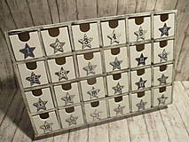 Krabičky - Adventný kalendár - 10156464_