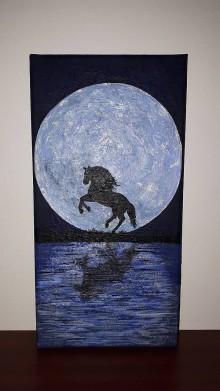 Obrazy - Mesiac a kôň - 10155600_