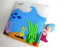Morská víla a čarovný podmorský svet (Emily)