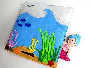 Hračky - Morská víla a čarovný podmorský svet - 10154710_