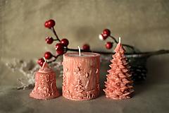 Svietidlá a sviečky - Sada vianočných sviec * s vôňou * - 10154751_
