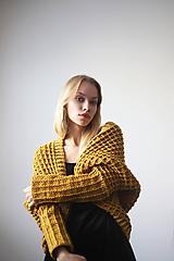 Svetre/Pulóvre - Žltý sveter - 10153335_