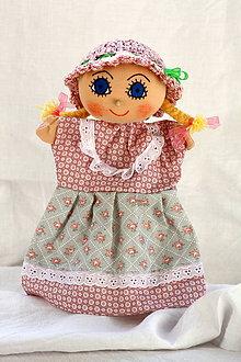 Hračky - Maňuška. Bábika Dievčatko Ema - 10154200_