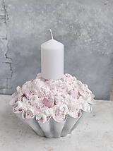 Dekorácie - Ružová Polárka - 10155767_