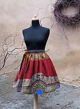 Sukne - AFRIKA - BORDÓ MAKENZI - 10152742_