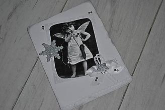 Papiernictvo - Čierno-biele Vianoce - 10152916_