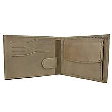 Tašky - Pánska ručne tamponovaná peňaženka z pravej kože v hnedej farbe - 10153225_