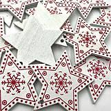 Polotovary - VY112 Výrez vianočný HVIEZDIČKA 5 cm - 10155062_