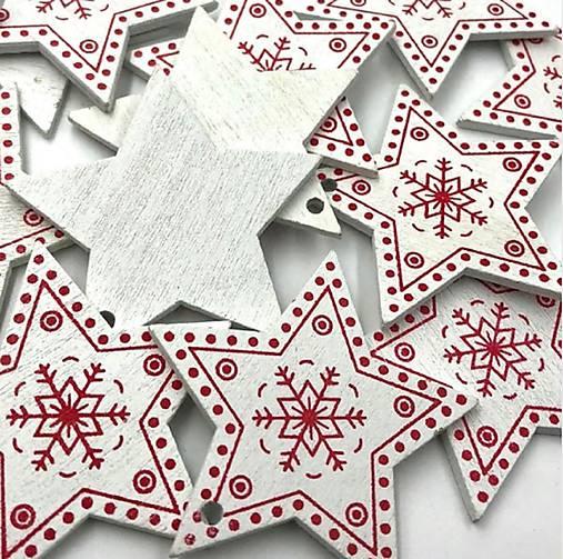 VY112 Výrez vianočný HVIEZDIČKA 5 cm