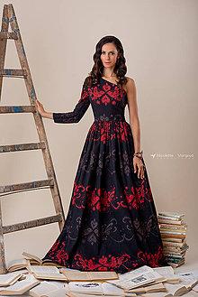 Šaty - Kolekcia Inšpirácie - modrotlač - 10153138_