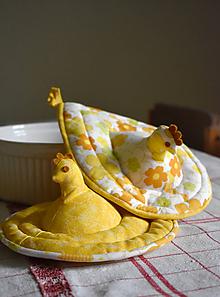 Úžitkový textil - origo chňapky 156 - 10153517_