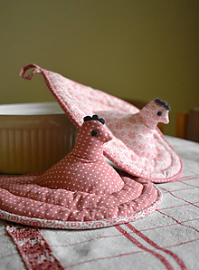 Úžitkový textil - origo chňapky 157 - 10153547_