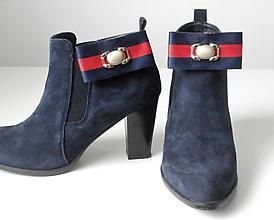Obuv - Klipy na topánky - elegantné casual modré / zelené mašle s ozdobou - 10155547_