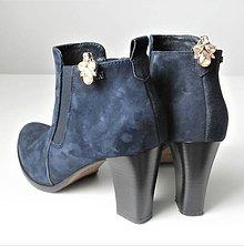 Obuv - Zlaté bordové kamienkové štrasové brošne - klipy na topánky - 10155787_