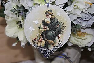 Dekorácie - Vianoce v maľovanej rozprávke :) - 10153269_