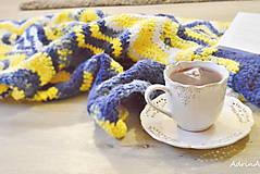 Úžitkový textil - deka - scandinavian style - 10153140_