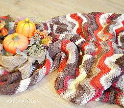 Úžitkový textil - deka - scandinavian style - 10153595_