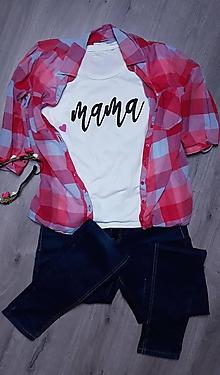 Topy - Tričko pre mamuľku - 10154299_