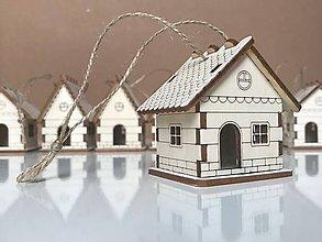 """Dekorácie - Dekorácie """"Domček zavesený - 10156119_"""