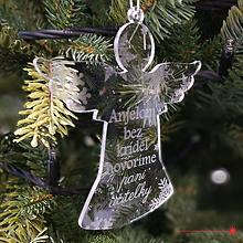 Dekorácie - Akrylový anjel - UČITEĹKY - 10156445_