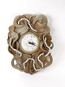 Hodiny - Keramické hodiny - 10156159_