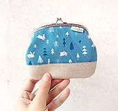 Peňaženka XL Zajačiky a stromy