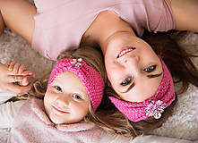 Ozdoby do vlasov - Set čeleniek Pinkie - 10154603_
