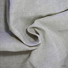Textil - 100% Ľanové plátno prírodné - 10159268_