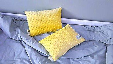 Textil - Obojstranne minky vankusiky 35x25cm - 10158296_