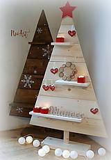 Dekorácie - Vianočný stromček natur 6 - 10157844_