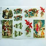 - Ryžové papiere na decoupage A4 - R792 - Vianoce, santa claus - 10158338_