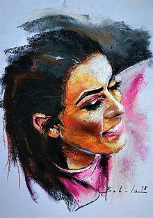 Obrazy - portrety - 10158075_