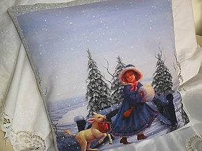 Úžitkový textil - Vankúš - návlečka. - 10158501_