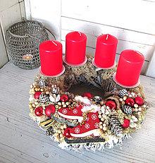 Dekorácie - Adventný veniec Korčulky - 10157691_