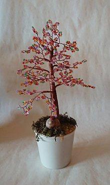 Dekorácie - stromček šťastia - 10160430_